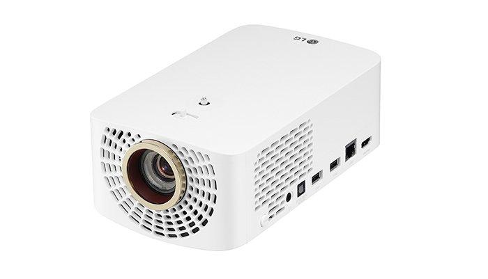 LG TruMotion フルHD LEDプロジェクター 100-240V対応 HF60LS