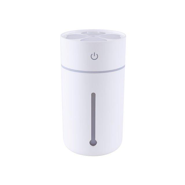 クレイツ イオン/CREATE ION ポータブルミスト デューイ USB給電/海外対応 超音波式加湿器 水タンク容量320ml ホワイト CIFM-A01W
