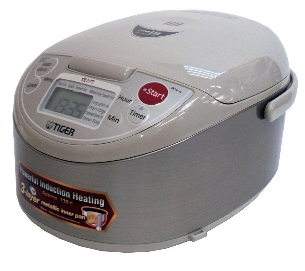 【海外向けIH炊飯器】【220V仕様】 タイガー魔法瓶 IH炊飯ジャー 《炊きたて》 1升炊き アーバンベージュ JKW-A18W CUZ