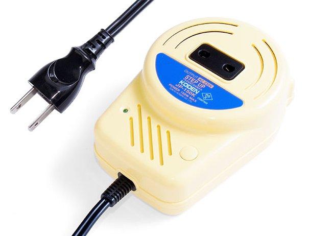 【変圧器】【国内用】 東京興電 輸入家電・民泊用変圧器 ステップアップトランス 定格容量150W 変換電圧100V→220-240V JP-150K