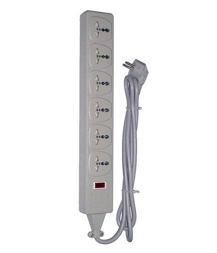 海外対応】【250V高電圧対応】 6個口マルチテーブルタップ 海外用電源 ...
