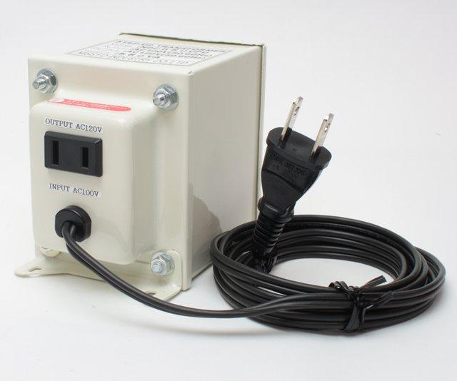 【変圧器】【日本国内用】 日章工業 アップトランス 定格容量550W 変換電圧100V→110V/120V/127V NDF-550UPU