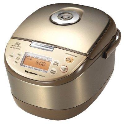 海外向けIH炊飯器 220V仕様 パナソニック 《ダイヤモンド銅釜》 IH炊飯ジャー 5.5合炊き サテンゴールド SR-JHS10-N