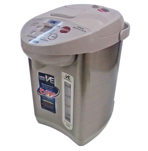 【220V仕様】 タイガー魔法瓶 海外向け VE電気ポット 電動&エアー給湯 容量3リットル PVW-B30W