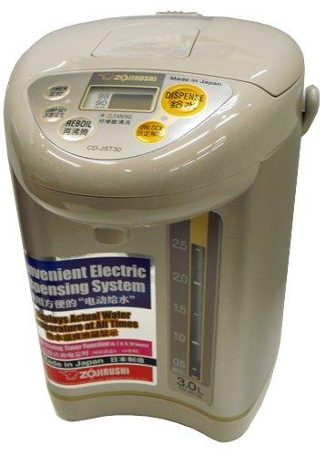 【海外向け家電】【220-230V仕様】 象印マホービン 海外向け 電動ポット 容量3リットル ライトブラウン CD-JST30 TL