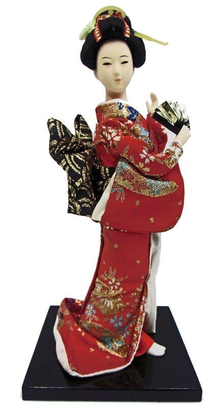 お土産品 9インチ日本人形 (品番9-2)