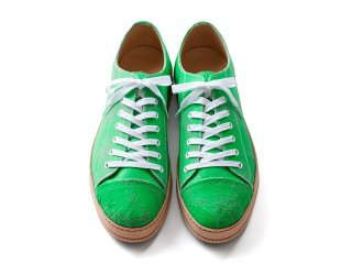 <img class='new_mark_img1' src='//img.shop-pro.jp/img/new/icons5.gif' style='border:none;display:inline;margin:0px;padding:0px;width:auto;' />7アイレットスニーカー(蛍光グリーン)