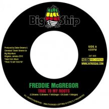 Freddie Mcgregor / True To My Roots (特製ステッカー付き)