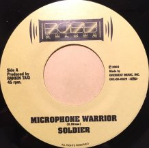 SOLDIER / MICROPHONE WARRIOR (USED)