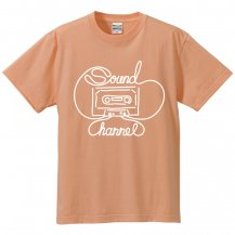 Sound Channel C-TAPE  KIDS T-SHIRT ホワイトプリント