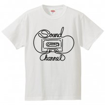 Sound Channel C-TAPE KIDS T-SHIRT ブラックプリント