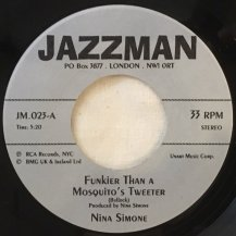 NINA SIMONE / FUNKIER THAN A MOSQUITO'S TWEETER / SAVE ME (USED)