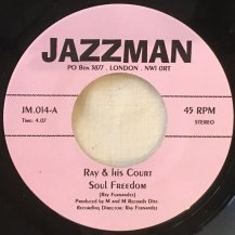 RAY & HIS COURT / SOUL FREEDOM (USED)