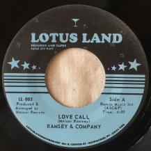 RAMSEY & COMPANY / LOVE CALL / LEG GREASE (USED)