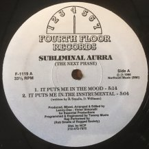 SUBLIMINAL AURRA / THE NEXT PHASE (USED)
