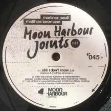 V.A (MARTINEZ, SEUIL, MATTHIAS TANZMANN) / Moon Harbour Joints Vol.1 (USED)