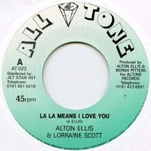 Alton Ellis & Lorraine Scott / La La Means I Love You