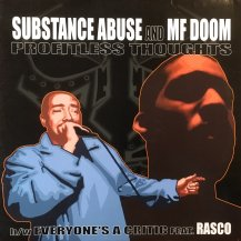 SUBSTANCE ABUSE AND MF DOOM / PROFITLESS THOUGHTS (USED)