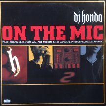 DJ HONDA / ON THE MIC (USED)