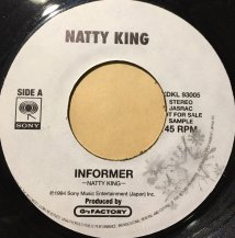 NATTY KING / INFORMER (USED)