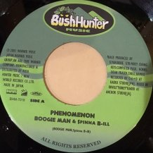 SpinaaBill BoogieMan / PHENOMENON (USED)
