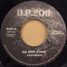 Kashmere / DA WHY SONG (USED)