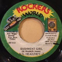 Ng Head Hey-Z / BASHMENT GIRL (USED)