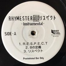 RHYMESTER / RESPECT -2LP- (INST) (USED)
