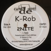 K-ROB / 2NITE (USED)