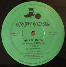 STREET SMARTZ / AIN'T NO BURNA (USED)