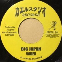 VADER / BIG JAPAN (USED)