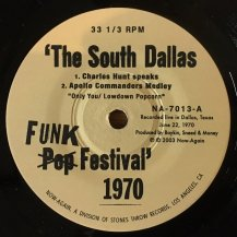 V.A. / THE SOUTH DALLAS POP FESTIVAL 1970 (ADDENDUM) (USED)