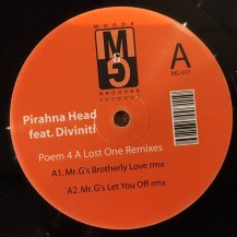 PIRAHNAHEAD FEAT DIVINITI / POEM 4 A LOST ONE REMIXES (USED)