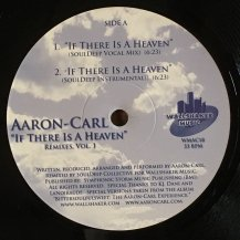 AARON CARL / IF THERE IS A HEAVEN REMIXES VOL.1 (USED)