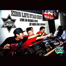 KING LIFE STAR / LIVE IN OSAKA 2018 AT NEW LEVEL