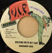 RUDEBWOY FACE / DRIVING WITH MY CAR (USED)