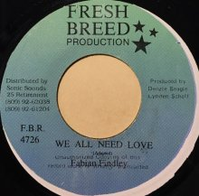 Fabian Findley / WE ALL NEED LOVE (USED)
