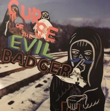 EGON / CURSE OF THE EVIL BADGER -LP- (USED)