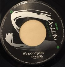 TAKAFIN / It's not a joke (USED)