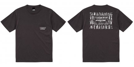 Pressure Sounds 100th Pocket T-Shirt BLACK(SIZE M)
