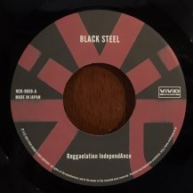 REGGAELATION INDEPENDANCE / BLACK STEEL / IRON MAN STYLE (USED)