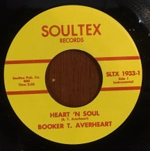 BOOKER T. AVERHEART / HEART 'N SOUL (USED)