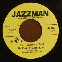 THE HIGHLIGHTERS BAND / THE FUNKY 16 CORNERS (USED)