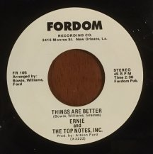 ERNIE AND THE TOP NOTES, INC. / DAP WALK / THINGS ARE BETTER (USED)