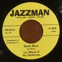 LEE MASON & HIS ORCHESTRA / SHADY BLUES (USED)
