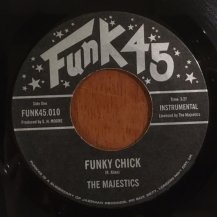 THE MAJESTICS / FUNKY CHICK / COMING ON (USED)