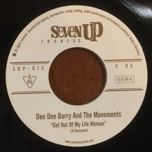 DEE DEE BARRY AND THE MOVEMENTS / GET OUT OF MY LIFE WOMAN / WILLOW WEEP FOR ME (USED)