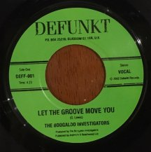 BOOGALOO INVESTIGATORS / LET THE GROOVE MOVE YOU (USED)