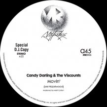 CANDY DARLING & THE VISCOUNTS / MOVIN'