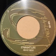 MICKY RICH / STRAIGHT LIFE (USED)